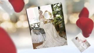 Особенные свадебные платья в стиле ретро