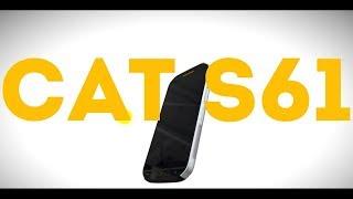 Защищенный ударопрочный смартфон Caterpillar Cat S61