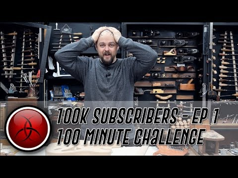 Ben's 100 Minute Kit Guitar Build Challenge - Thanks for hitting 100K Subs! - Part 1