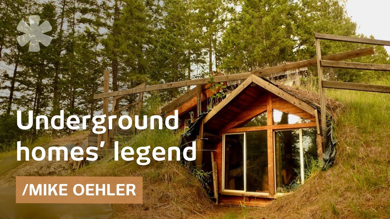 Houses Built Underground Idaho Modern Oldtimer Builds Underground Solar 50 Houses Youtube