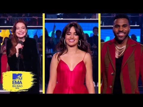 Presenters Moments & Nominees | MTV EMAs 2018
