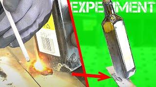 Glas an Stahl schweißen? EXPERIMENT | #igorwelder | HDB Schweiß Shop