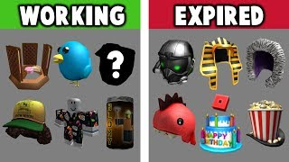 EVERY ROBLOX PROMO CODE!! Working & Expired!!