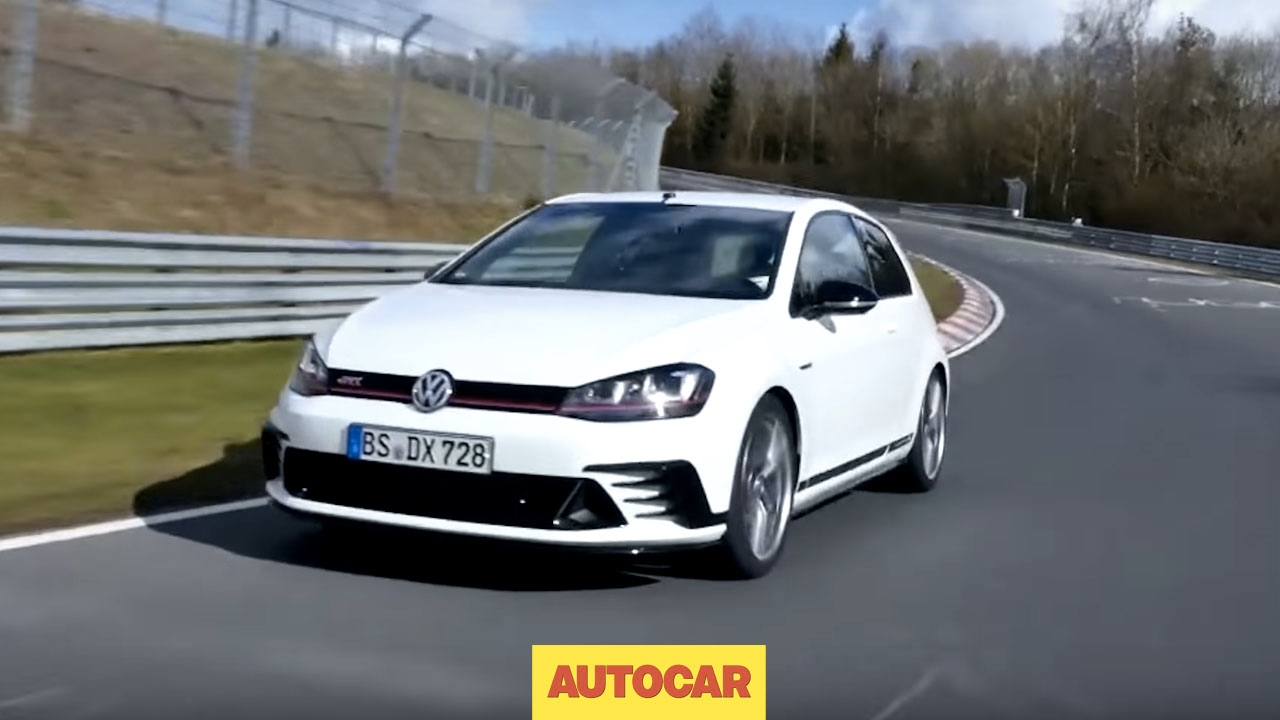 Driven! Volkswagen Golf GTI Clubsport S at the Nürburgring | First Drive | Autocar