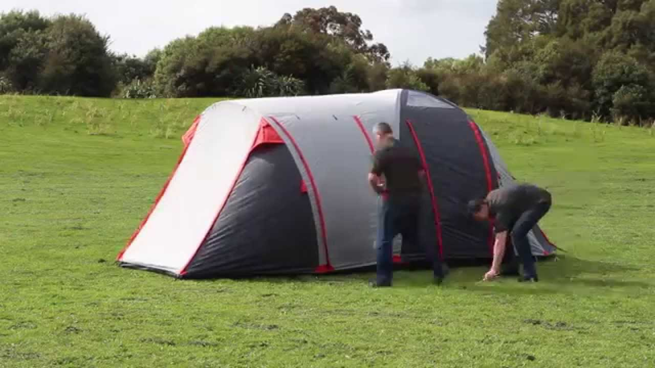 & Explore Planet Earth Acadia 6 Person Tent - pitching - YouTube