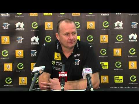 Ken Hinkley post game press conference - Round 13, 2014 v Sydney