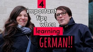 4 Things NOT TO FORGET When Learning German!! (With Cari from Easy German)