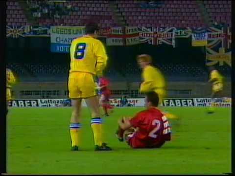 Leeds United 2 Stuttgart 1 Champions League replay (9Oct1992)