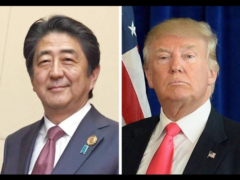 LIVE STREAM: President Donald Trump Holds a Joint Press Conference with Japanese PM Shinzo Abe