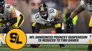 The nfl announced that maurkice pouncey had his suspension reduced to two games. missi matthews breaks down mason rudolph and benny snell's media sessions.#p...