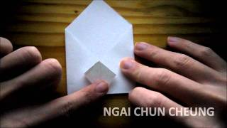 Origami Envelope Pocket S (Tutorial)
