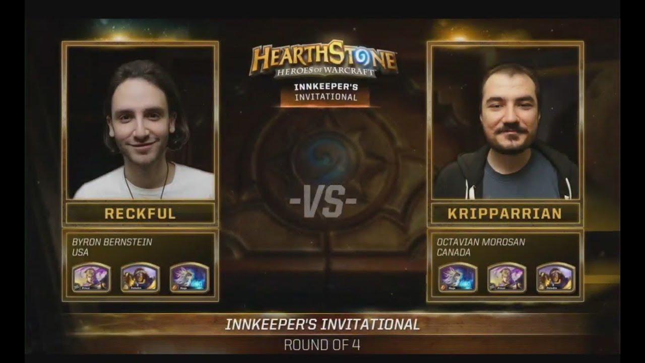 Hearthstone Kripparrian VS Reckful Game 1