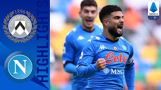 Udinese 1-2 Napoli | Insigne and Bakayoko give Napoli the win  | Serie A TIM