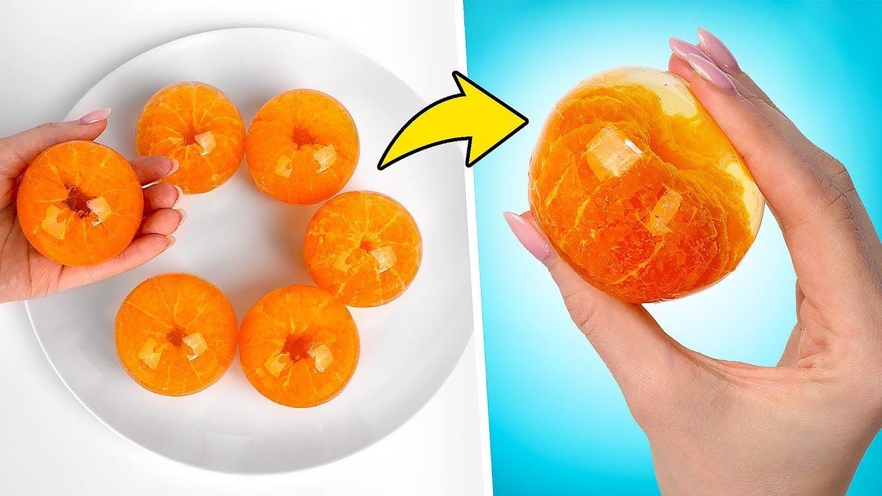 Unas mandarinas ricas y divertidas, receta de Sam y Su🍊