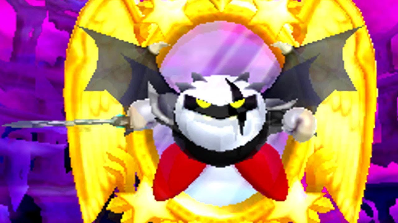 Kirby: Triple Deluxe 3DS - Dark Meta Knight's Revenge Boss ...