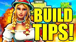 5 TRICKS TO BUILD LIKE A PRO IN FORTNITE! FORTNITE HOW TO BUILD CONSOLE TIPS PS4/XBOX ONE!