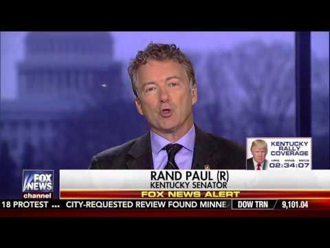 "Sen. Rand Paul on Fox News' ""Your World w/ Neil Cavuto"" - March 20, 2017"
