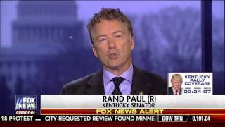 Sen. Rand Paul on Fox News