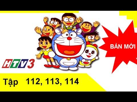 Phim hoạt hình Doremon tiếng Việt lồng tiếng tập 112,113,114 HTV3