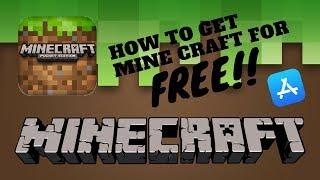 How to install minecraft for free (No jailbreak) (No computer)