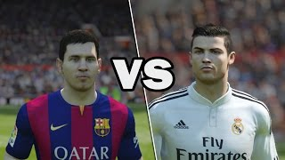 Lionel Messi VS Cristiano Ronaldo (FIFA 15 Battle) Thumbnail