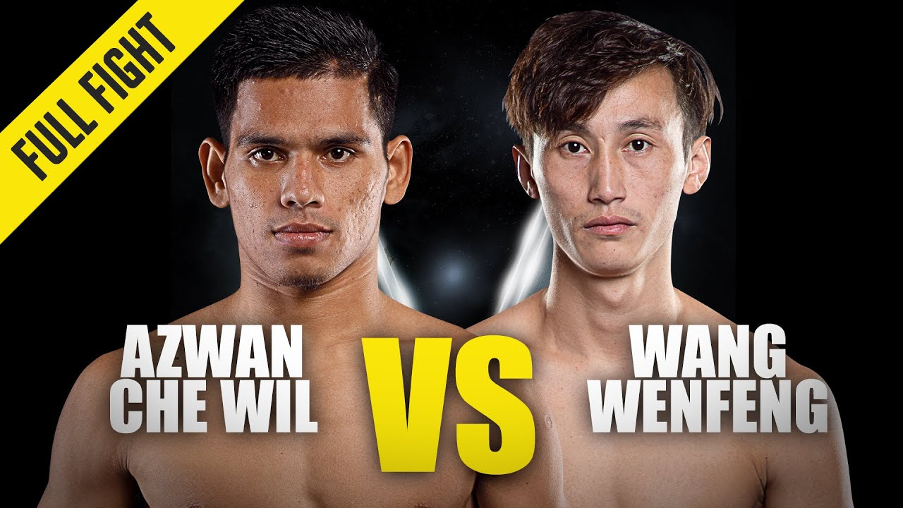 Azwan Che Wil vs. Wang Wenfeng | ONE Championship Full Fight