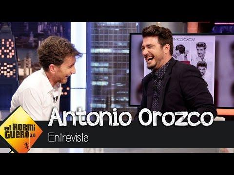 """Antonio Orozco en El Hormiguero 3.0: """"Estoy sumido en la operación 'a los 40 pibón'"""""""