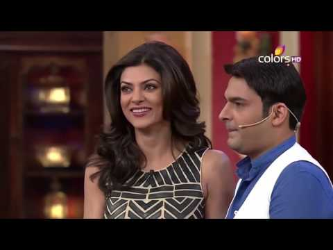 Comedy Nights With Kapil - Sushmita Sen - 4th May 2014 - Ful