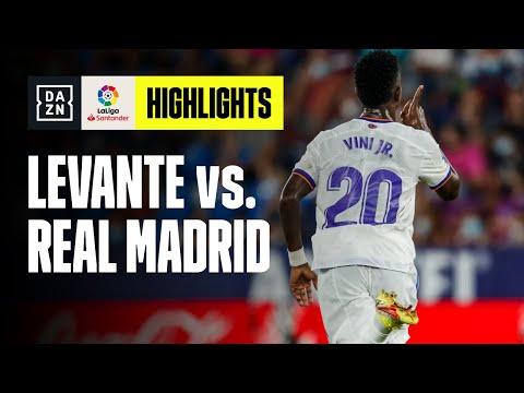 Pazzo pareggio al Ciutat de Valencia: Levante-Real Madrid 3-3   LaLiga   DAZN Highlights