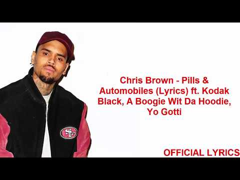 Chris Brown - Pills & Automobiles (Lyrics)...