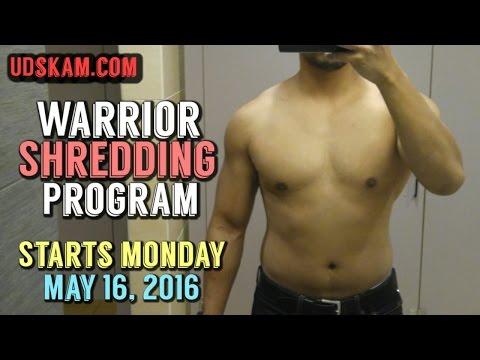 kinobody warrior shredding program free 20