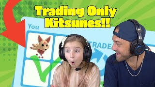 What People Trade For A Legendary KITSUNE!! New Roblox Adopt Me Update!!