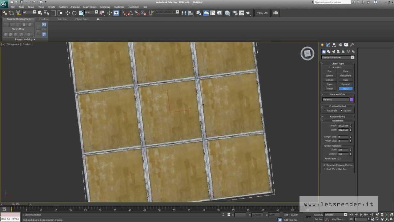 Creazione texture diffuse per ds max v ray brick stone