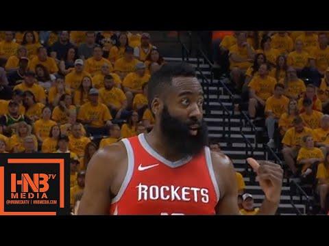 Utah Jazz vs Houston Rockets 1st Qtr Highlights / Game 4 / 2018 NBA Playoffs
