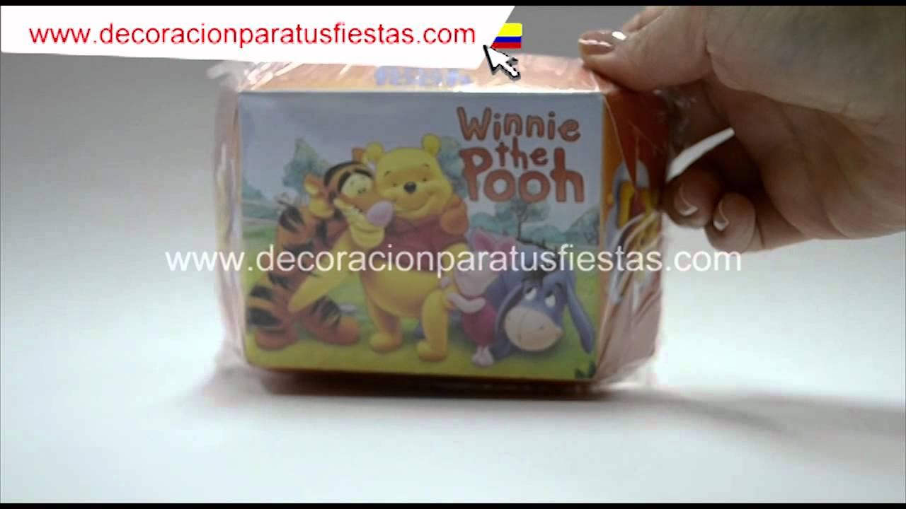 Bandeja o plato para decoraci n fiestas infantiles con el for Decoracion winnie pooh para fiesta infantil