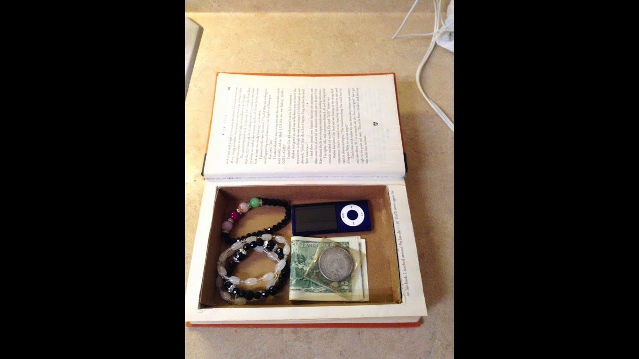 Como hacer un compartimiento secreto en un libro youtube - Como hacer un libro hueco ...