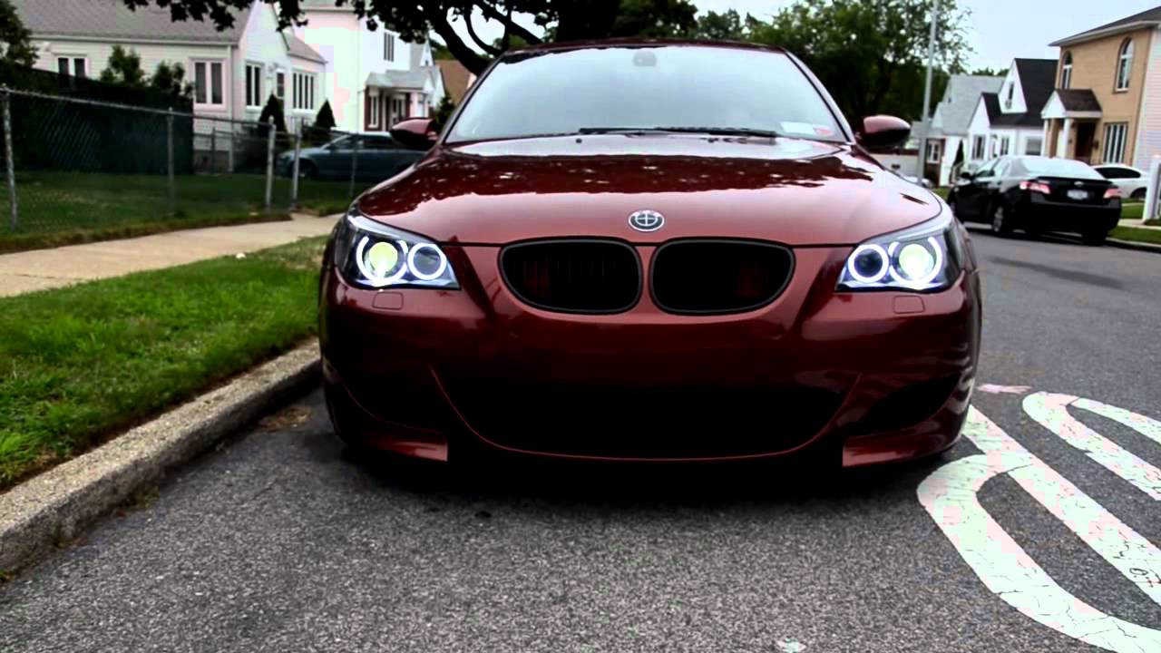 Worksheet. My E60 Indianapolis Red M5 w blacked out headlights and Orion V2