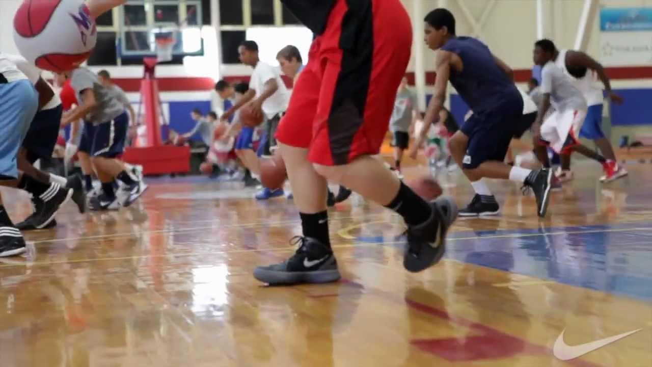 Nike Boys Basketball Camp - YouTube