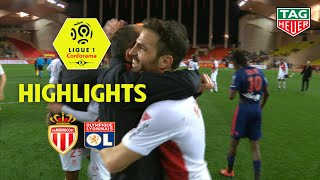 AS Monaco - Olympique Lyonnais ( 2-0 ) - Highlights - (ASM - OL) / 2018-19