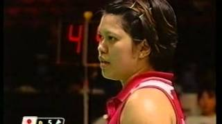 Badminton 2003 World Championchips Woman's Single Quarter Final - Mia Audina vs. Yonekura Kanako