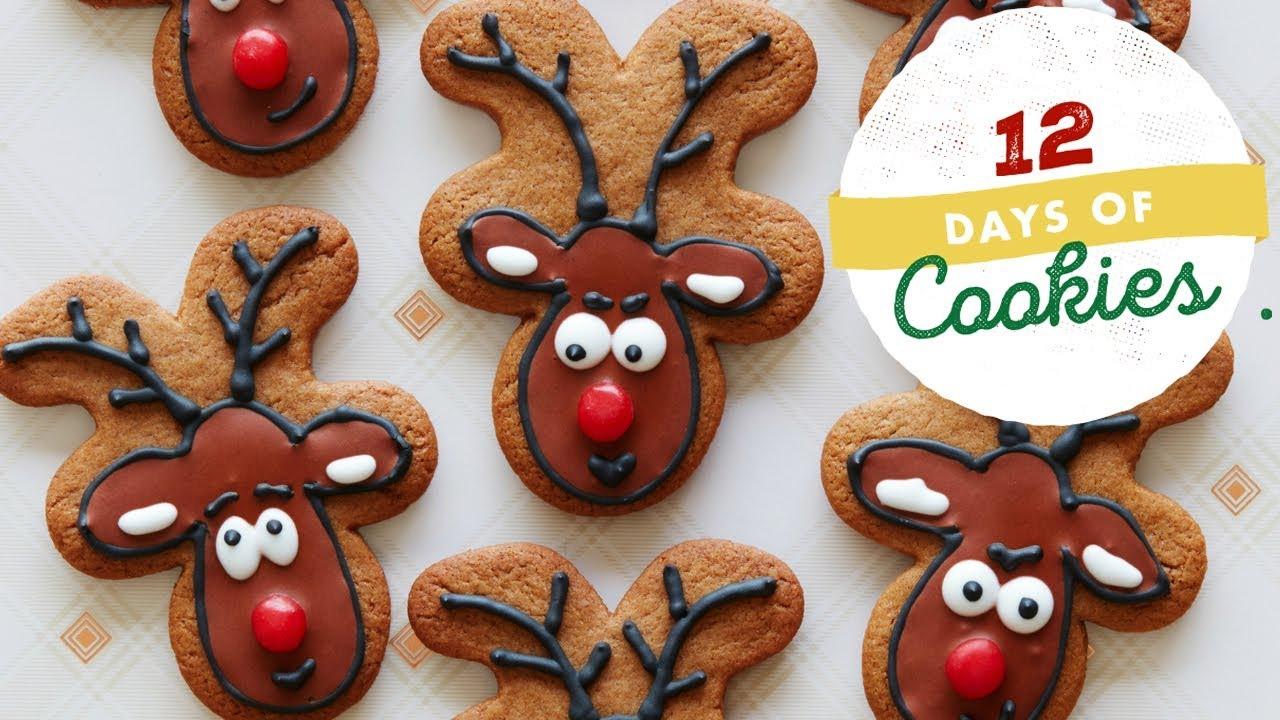 Gingerbread Reindeer Cookies Food Network