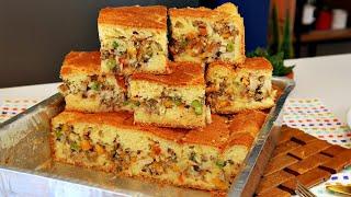 Torta De Sardinha – Massa Super Fofinha