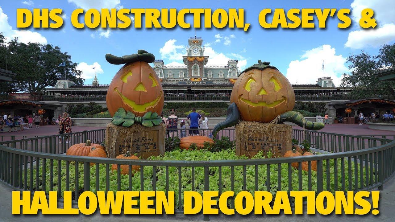 construction caseys halloween decorations walt disney world - Disney World Halloween Decorations