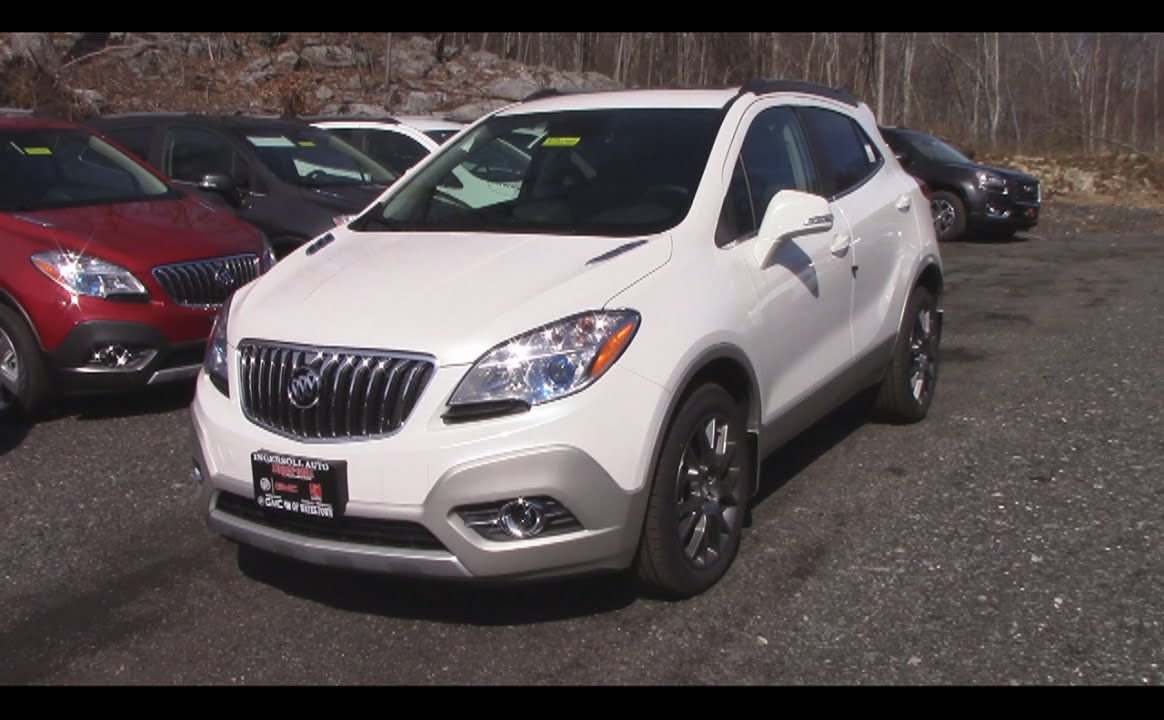 2016 Buick Encore Sport Touring In Depth Review And Start Up