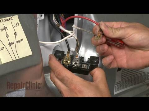 maytag dryer wiring diagram usb printer cable whirlpool/kenmore electric terminal kit replacement #279318 - youtube