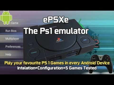 EPSXe - The Best Ps1 Emulator For Android Tv