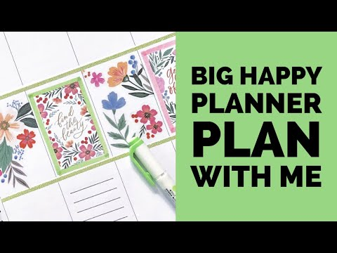 plan-with-me-//-big-happy-planner-//-jan-27,-2020-//-color-story