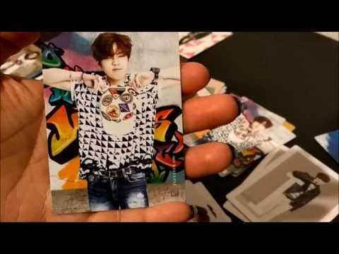 Kpop Unboxing: Infinite Star Cards And Binder Vol. 2