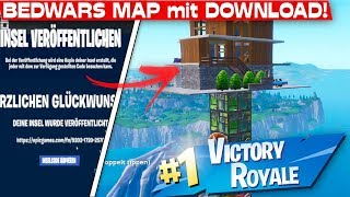 BEDWARS MAP in FORTNITE with DOWNLOAD CODE! | Fortnite Advent Calendar December 24