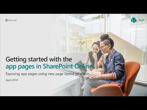 Getting started with building custom app pages for SharePoint Online using SharePoint Framework thumbnail